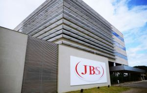JBS said in a Tuesday securities filing that it sold meat processing plants in the three countries for US$300 million to Minerva in Sao Paulo state.
