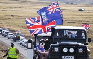 Canada's foreign affairs department said Ottawa supports the wishes of Falklands inhabitants, who voted overwhelmingly in March 2013 to remain as a BOT (Pic M. Short)