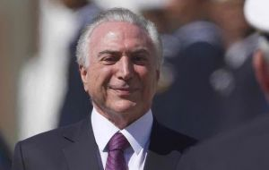 """Russia will be number one on the agenda of my tour,"" said President Temer"