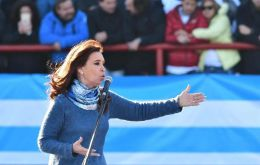 """I call for a citizen's unity, the unity of all Argentines,"" said CFK, who has not confirmed her own candidacy yet."