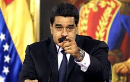 """We would never give up, and what couldn't be done with votes, we would do with weapons"" said Maduro"