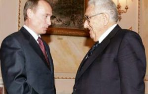 Putin and Kissinger have maintained warm personal relations over a number of years