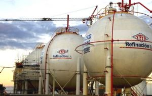 "With this new sale YPFB becomes a ""major player"" in the LPG regional industry,"