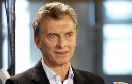 "Macri also said that fluctuations in the exchange rate are part of the ""supply and demand flows."