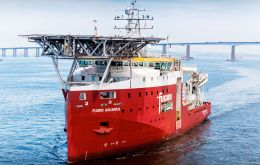 Built specifically for the Brazilian market by Wilson Sons shipyard in São Paulo,  Fugro Aquarius is an 83-m, DP-2 ROV support vessel.