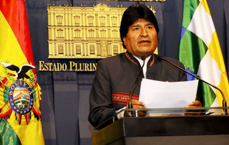 "Morales said that Chile ""should acknowledge there are peaceful ways to resolve controversies between nations"""