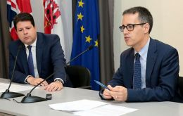 The Gibraltar delegation was led by the Chief Minister Fabian Picardo and included the Deputy Chief Minister Dr Joseph Garcia, who is Minister for Brexit