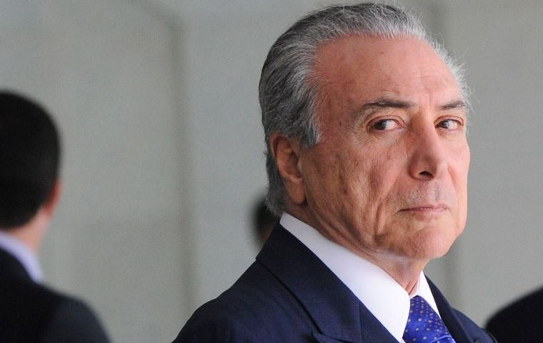 Key to Temer's survival is whether the Brazilian Social Democracy Party (PSDB), Brazil's third largest, will stick with his coalition despite deep divisions in its ranks