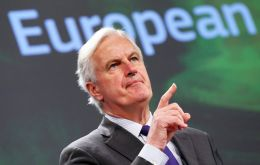 Barnier said some on the British side have not understood EU's position and believe that they can hold onto the benefits of a single market while giving up membership.
