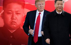 Tensions between Washington and Beijing dominated the run-up to the meeting, with Trump ratcheting up pressure on President Xi Jinping to rein in North Korea