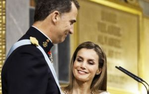 King Felipe VI and his wife Queen Letizia are making the first state visit by a Spanish monarch to the UK since 1986, from July 12-14