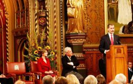The King of Spain in his address in Westminster Hall placed the focus on bilateral dialogue between London and Madrid on the Gibraltar question