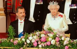 """With such a remarkable shared history, it is inevitable that there are matters on which we have not always seen eye to eye"", said the Queen"