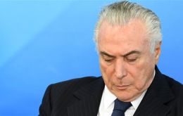 Brazil's full Chamber of Deputies is expected within days to vote on whether the Supreme Court should put Temer on trial.