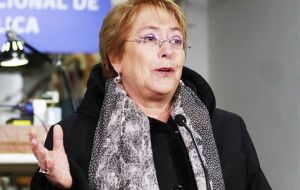 Business leaders blame the center-left government of President Michelle Bachelet for generating uncertainty by trying to push a raft of social and economic reforms