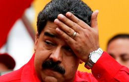 Maduro dismissed Sunday's poll as unconstitutional and continued to campaign in support of a July 30 vote to create a constitutional assembly