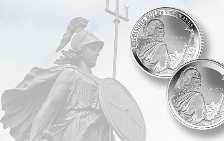 "Pobjoy Mint ""was not aware"" that Britannia is trademarked on coin, according to the firm. It was later confirmed that the trademark resides with the Royal Mint"