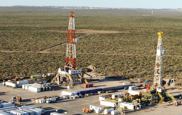 BP's Pan American Energy, Total Austral, Wintershall Energía, and YPF are committing the investment over the next five years to drill more than 60 wells