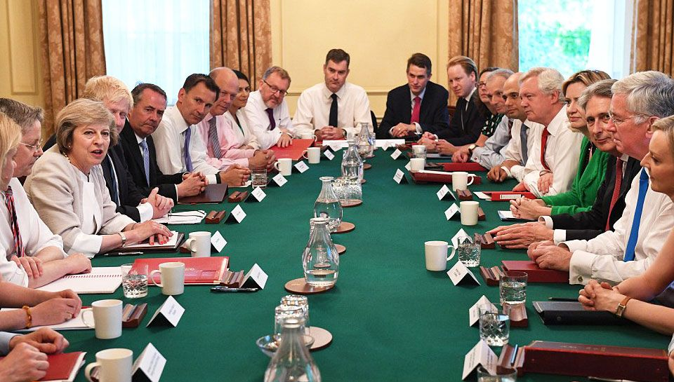 U201cThere Is A Need To Show Strength And Unity As A Country And That Starts  Around The Cabinet Table,u201d The Prime Minister Told Ministers.