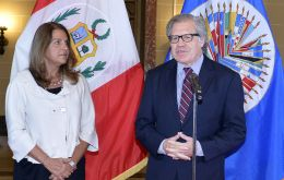 Peru's delegate Ana Rosa Valdivieso, appreciated the support from OAS for the organization of the Summit and the relevance of the topic chosen by her country.