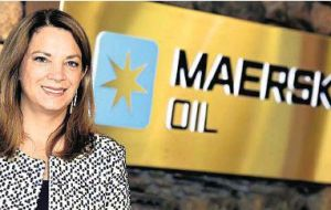 Maersk Oil chief executive Gretchen Watkins said the company was on track for first gas in 2019, but warned against complacency.