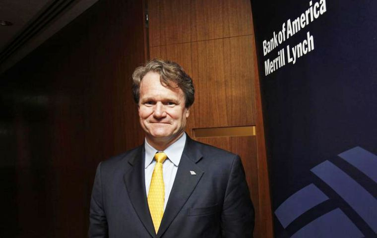 "In a statement, Moynihan called Dublin the ""natural location"" for consolidating the bank's legal entities, noting Bank of America already has an Irish-domiciled bank."