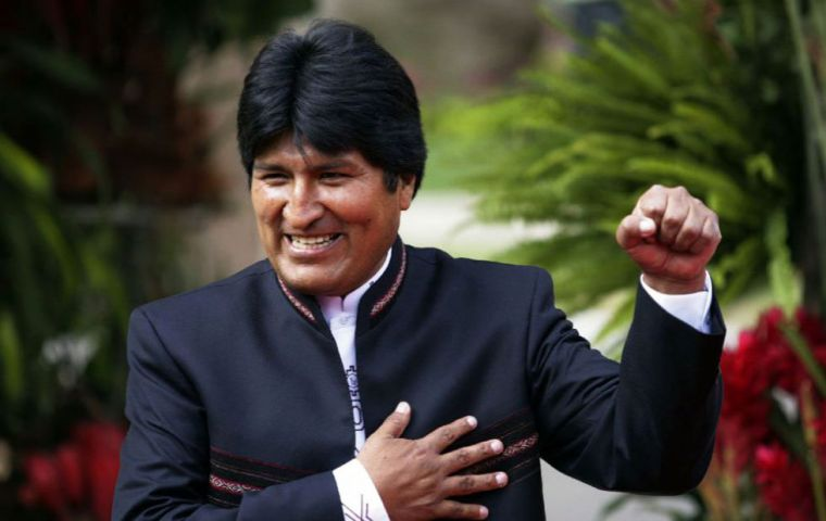 Bolivia is now in the process of becoming a member of Mercosur and Morales attended the group's summit in Argentina last week.