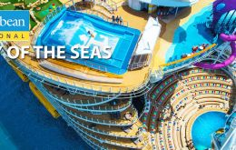 Royal Caribbean's Symphony of the Seas will be the largest cruise ship ever built when the vessel goes into service in 2018: 230,000 gross tons and over 6,000 guests