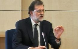 """I never took care of the economic issues in the party. I was devoted to political activity,"" Rajoy told the three magistrates during the proceeding."