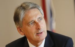 "Chancellor Philip Hammond said the UK economy had now grown consistently for four-and-a-half years. ""We can be proud of that, but we are not complacent"""