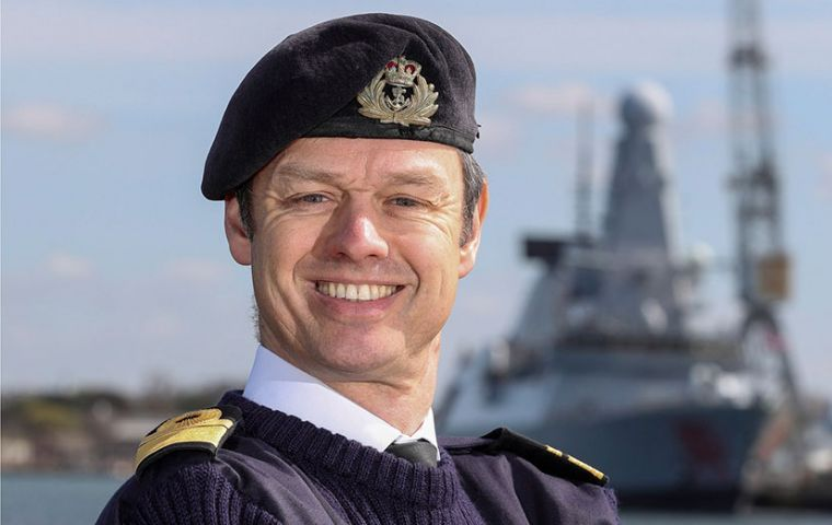 "In response, Rear Admiral Burton of the Royal Navy tweeted: ""As a Royal Navy LGBT champion and senior war-fighter I am so glad we are not going this way."""