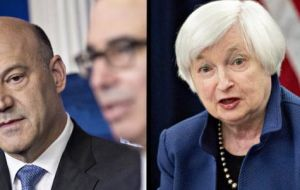 Cohn, a former Goldman Sachs president and Yellen current Fed Chair