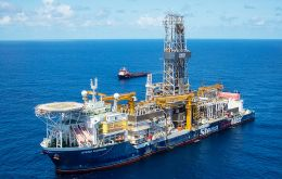 The result increases the estimated recoverable resources in Guyana's Stabroek Block formation to about 2.25 to 2.75 billion barrels