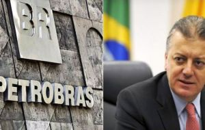 "Petrobras Aldemir Bendine and associates are ""suspected of organizing bribes worth 3 million reais"" from construction conglomerate Odebrecht."