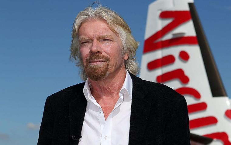 "Virgin Group's share will fall from 51% to 20%, while Delta will retain 49%. Sir Richard said he would remain ""very much involved"" after the deal."