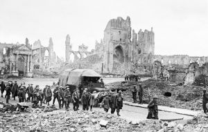 Passchendaele village lay barely five miles beyond the starting point of his offensive. It took over three months, leaving 325,000 Allied and 260,000 German casualties