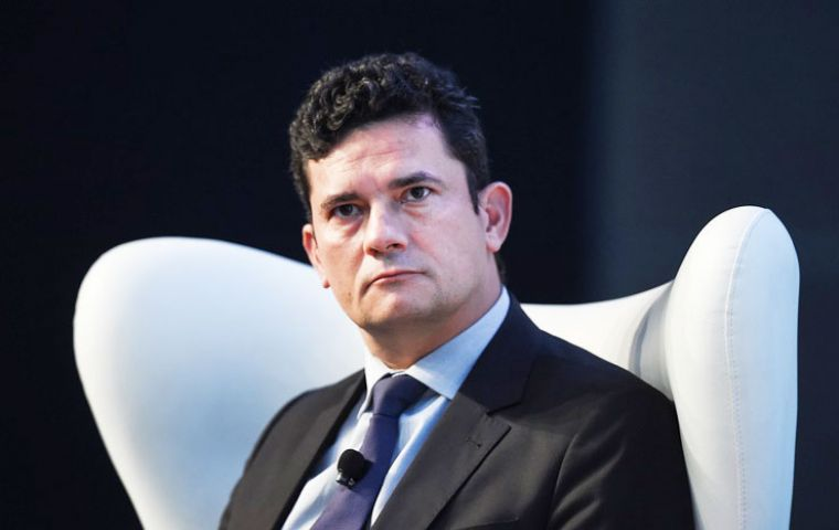 """Unfortunately, I see the lack of a more vigorous attitude from Brazilian authorities regarding the problem of corruption,"" said Moro (Pic AFP)"