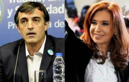 Esteban Bullrich and Cristina Fernandez are running a pre-candidates of their respective parties in the crucial province of Buenos Aires