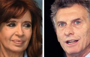 Opinion polls indicate that the former president is ahead in vote intention in Buenos Aires province, but Macri is expected to vote better in several other provinces.