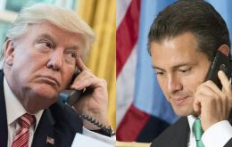 &#147;You cannot say that to the press,&#148; Trump told Pe&ntilde;a Nieto, adding it was the &#147;worst&#148; conversation he had that day, according to a Jan 27 transcript<br />
