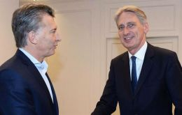 The contract announcement was first done by UK chancellor Philip Hammond during his recent visit to Argentina