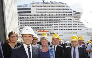 France under Macron has been pushing for a 50-50 split between Fincantieri and STX's French shareholders - a proposal rebuffed by Italy.
