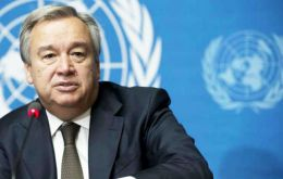 Mr. Guterres' spokesman said UN is closely following events in the country and is convinced the crisis requires a political solution based on dialogue and compromise.