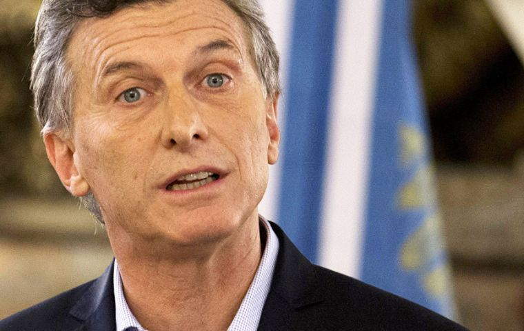 """Once we confirm Argentines' vocation for change, (the investments) will multiply several more times"" said Macri ahead of Sunday's mid-term primary elections."