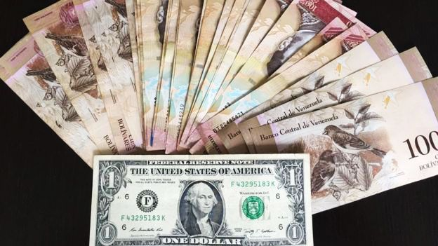 Triple Digit Inflation In Venezuela Us Dollar Trades At