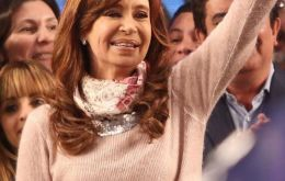 Cristina Fernandez was expected to win by several percentage points, according to final polls last week, causing investors to fear her strong political comeback