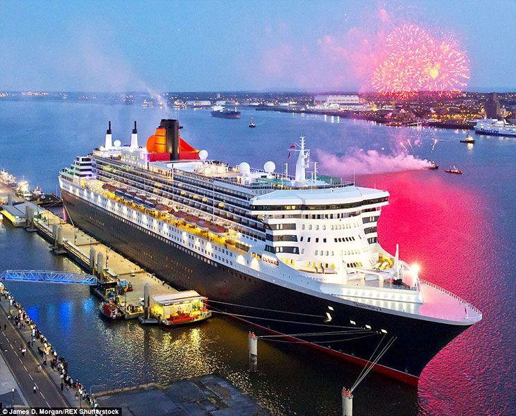 Cunard Celebrates Queen Elizabeth 50th Anniversary With Mediterranean Cruise