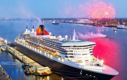 Celebrations culminate on QE2 Day - 20 September 2017 - exactly 50 years since the ship was launched by Her Majesty Queen Elizabeth II.