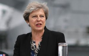 "The UK prime minister added: ""I think it is important for all those in positions of responsibility to condemn far-right views wherever we hear them."" (Pic Reuters)"