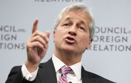 "JPMorgan CEO Jamie Dimon, of the Strategy and Policy Forum, said he strongly disagreed with Trump's statements, ""fanning divisiveness is not the answer""."